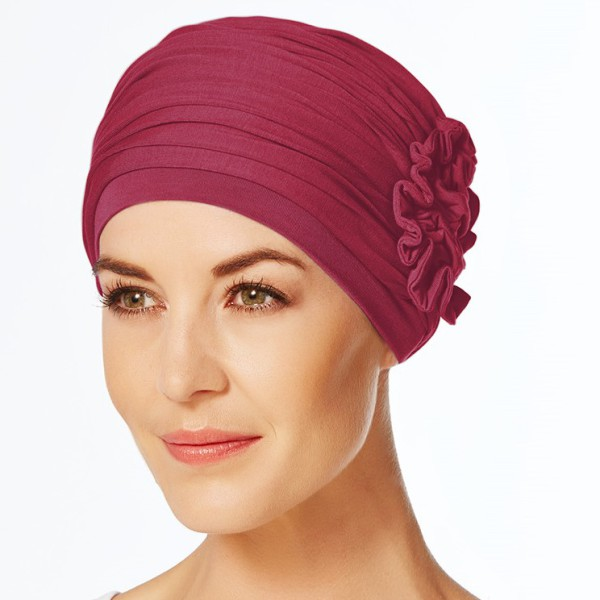 turban lotus red (2)
